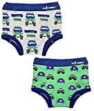 EZ Undeez Bébés garçons, sous-vêtements pour Enfants, Monster Trucks & Cars, 2 Ans