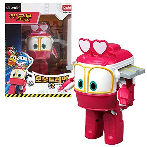 Robot Trains Season 2 Korean Animation Transforming Robot Character Selly 4' Action Figure Toy, Ages 3 and up