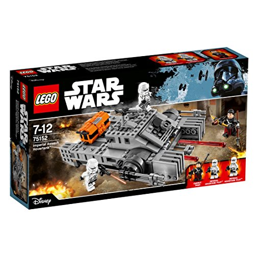 LEGO- Star Wars Set Costruzioni Imperial Assault Hovertank, Multicolore, 75152