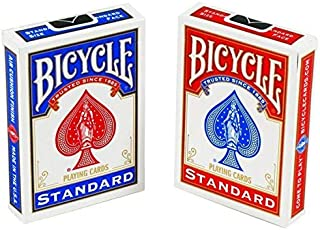 Bicycle Standard Playing Cards - Red & Blue (Pack Of 2)