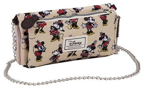 Disney Classic Minnie Ivory Münzbörse, 20 cm, Beige