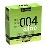 Okamoto 004 Aloe Condoms, 24 Count