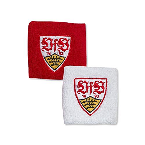VFB Stuttgart Schweißband - Set red/white 2013