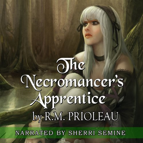 The Necromancer's Apprentice audiobook cover art