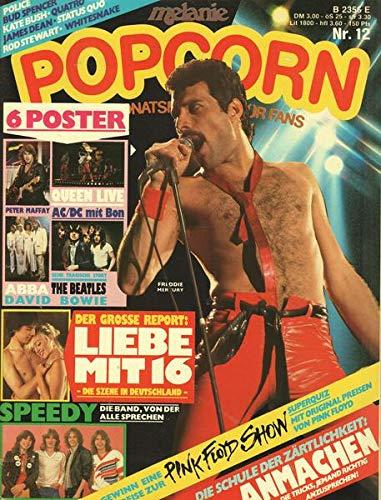 Popcorn Nr. 12/1980 Der große Report: Liebe mit 16