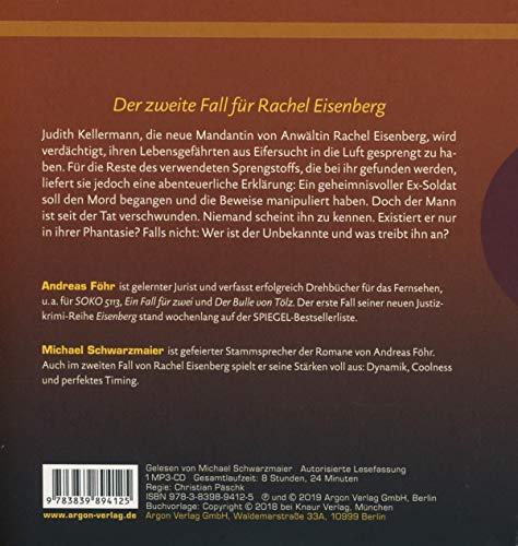 Eifersucht: Ein neuer Fall für Rachel Eisenberg (Die Rachel-Eisenberg-Serie, Band 2)