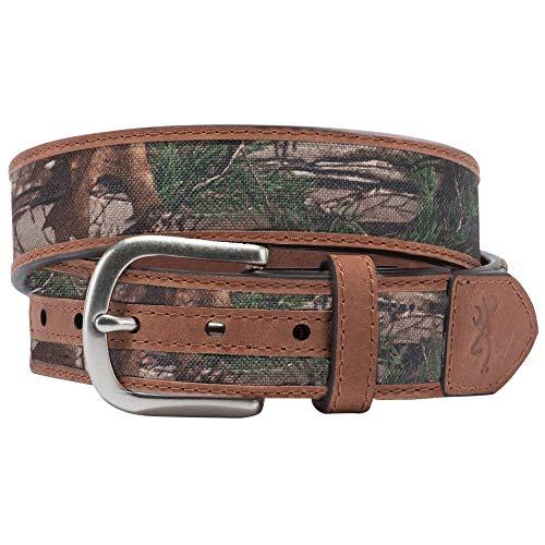 Browning Buckmark Belts Scofield, Realtree Xtra/Bronze, Realtree Xtra