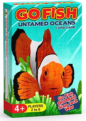 Go Fish Untamed Oceans - Go Fish, Old...