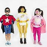 vamei Superhelden Kostüm Kinder Jungen Superhelden Umhang Cape Maske Halloween DIY Umhang Helden Rollenspiel Geburtstagsfeier Mitgesel Gastgeschenk Halloween karnevalskostüm Kinder Helden Party - 7