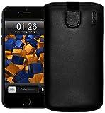 mumbi Echt Ledertasche kompatibel mit iPhone SE 2 2020/7 / 8 Hülle Leder Tasche Case Wallet,...