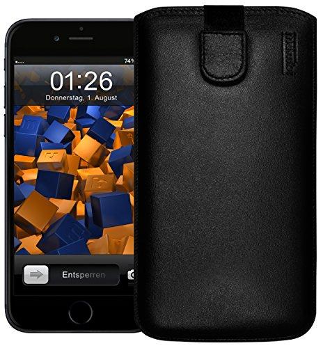Mumbi Leather Cover - Funda calcetín para Apple iPhone 6 Pl