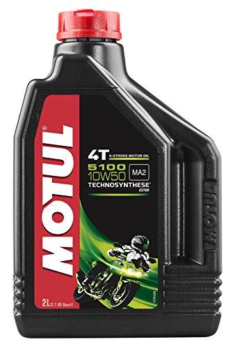 Motul - 104075/74 : Aceite lubricante 4t 5100 10w50 4t 2l