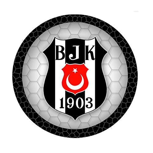 KnBo Tortenaufleger Tortenfoto Aufleger Foto Bild Besiktas Istanbul (1) rund ca. 20 cm *NEU*OVP*