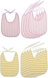 shama 10個の成人高齢患者BsMeantime Clothing Proteor Apron Saliva Towel
