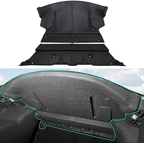 L&U El silenciamiento del Sonido del cojín de Aislamiento de Sonido y la amortiguación de 3 Tesla Model,Rear Trunk soundproof Mat