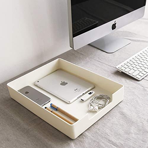 Archivo de escritorio caja de almacenamiento apilable Clasificación del archivo de almacenamiento en rack Revista visualización y almacenamiento Caja Organizador de escritorio Muestra de bastidores de