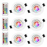 RGB LED deckenstrahler einbauleuchte
