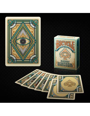 Bicycle Blackout Kingdom Deck (Light Shade) by Gambler's Warehouse - Trick by Gamblers Warehouse