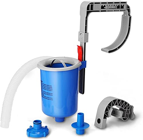 2021 Swimming Pool Surface Skimmer, Above Ground Pool Skimmer high quality Kit, Wall Mounted Automatic online Pool Cleaners with Removeable Skimmer Basket, for Pool Filter Systems outlet sale