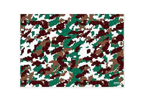 ミワックス カッティングマット デジカモカッティングマット グリーン KM-A4-G