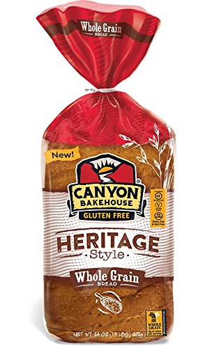 CANYON BAKEHOUSE Heritage Style Whole Grain Gluten-Free Bread - Case of 6 Loaves