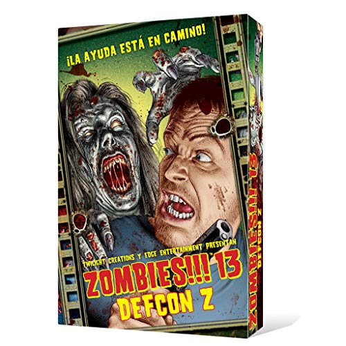 Zombies 13 DEFCON Z - Juego de mesa (Edge Entertainment EDGTC13)
