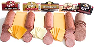 Cheese and Sausage Gift Sampler by Wisconsin Cheese Mart