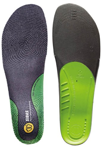 Sidas Comfort 3D Insoles, Yellow, XX-Large (Mens-13 to 14)