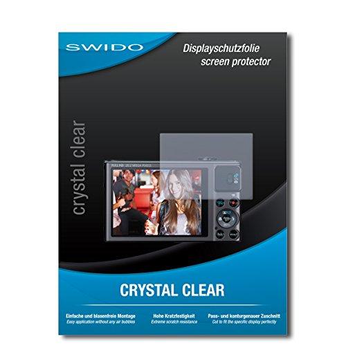 SWIDO Schutzfolie für Canon Powershot SX620 HS [2 Stück] Kristall-Klar, Hoher Festigkeitgrad, Schutz vor Öl, Staub & Kratzer/Glasfolie, Bildschirmschutz, Bildschirmschutzfolie, Panzerglas-Folie