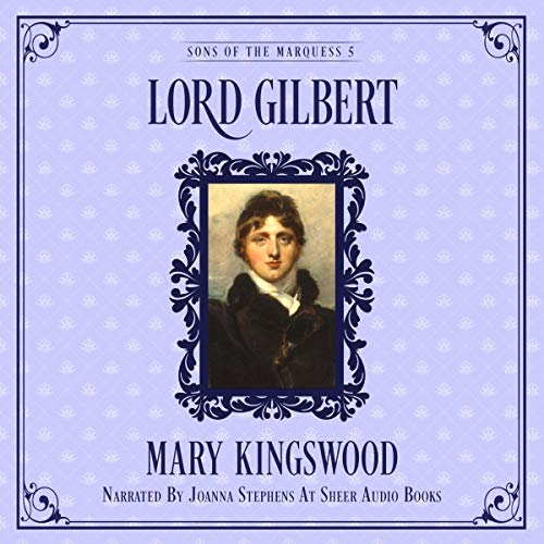 Lord Gilbert audiobook cover art