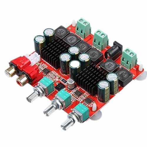 Modulo electronico 2.1 Versión DC 12-26V Placa de amplificador de potencia 2x50 + 100W 3 canales Digital Altavoz Power Amplifier Board TPA3116