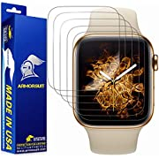ArmorSuit Displayschutzfolie für Apple Watch Serie 4 (40 mm) (2 Stück) MilitaryShield Full Coverage Screen Protector kompatibel mit Apple Watch Serie 4 (40 mm) – HD Clear Anti-Bubble
