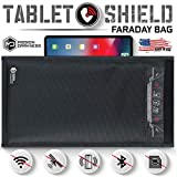 Mission Darkness Non-Window Faraday Bag for Tablets // Device Shielding for Law Enforcement, Military, Executive Privacy, EMP Protection, Travel & Data Security, Anti-hacking & Anti-tracking Assurance