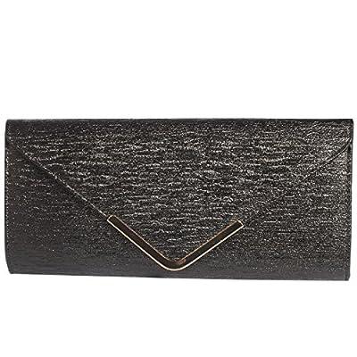 Digabi Simple Fashion Design Rectangle Shape women Leather Clutch Bags