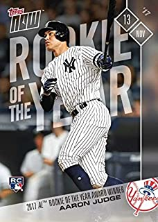 Best aaron judge rookie of the year card Reviews