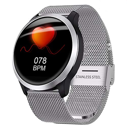 HBRT Fitness Tracker, EKG + PPG Activity Watch, Herzfrequenzmesser DREI-Chip-Dual-System-Die Genauigkeit IP68 Zum Sicherstellen, DASS Wasserdicht