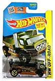 hot wheels flatbed truck - Hot Wheels 2015 HW Off-Road The Haulinator Flat Bed Truck 90/250, Green