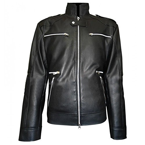 Breaking Bad Jesse Pinkman Disfraz Casual Wear Chaqueta de cuero sinttico