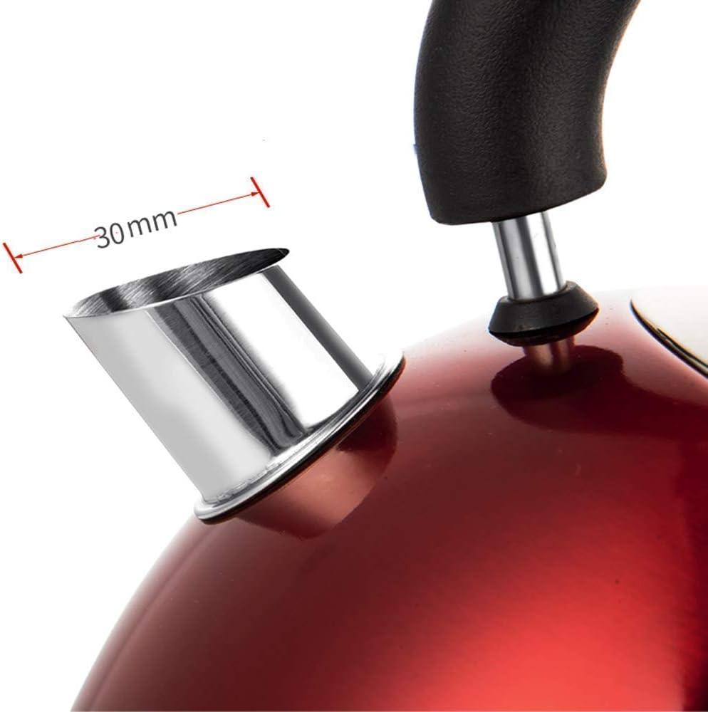 HLJ 1,8 litre imprimer retour bouilloire électrique batterie de 2500 watts chaudière bouilloire électrique avec couvercle interne et fond en inox st (Color : Gold) Black