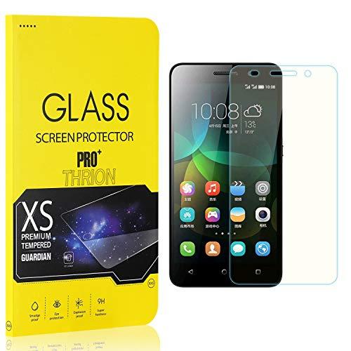 THRION 3 Stück Panzerglas für Honor 4C, Schutzfolie 2.5D HD Clear 9H Festigkeit Anti-Kratzen Blasenfrei Bildschirmschutzfolie Folie für Huawei Honor 4C