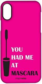 Macmerise IPCIPXPMI2328 You had me at Mascara - Pro Case for iPhone X - Multicolor (Pack of1)