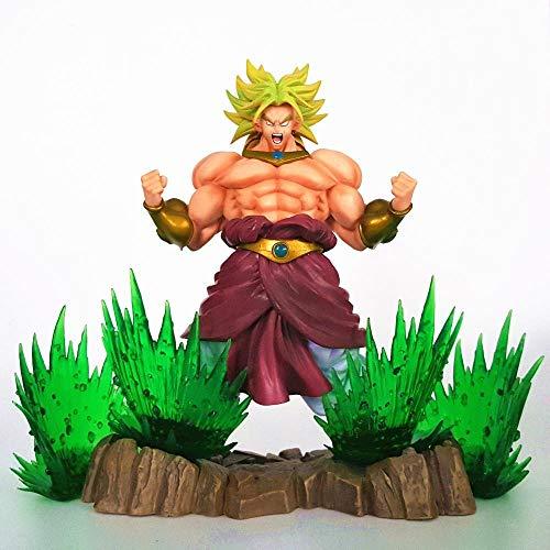 dsfew Puppe , Wunderspielzeug, Action-Mann, Wunderfiguren, ActionfigurPuppe Spielzeug Power-Up-Effekt Anime Super Son Goku PVC-Actionpuppe
