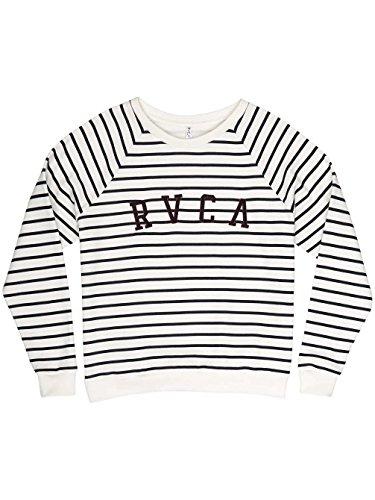 Sweat Rvca Rvca Arc Crew - Navy Stripe-Bleu