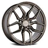 TSW SILVANO Custom Wheel - 19x9.5, 40 Offset, 5x114.3 Bolt Pattern, 76.1mm Hub - Matte Bronze Rim