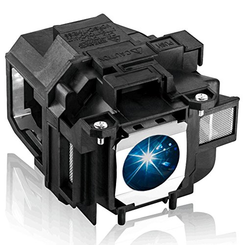 EWO'S Replacement Lamp for Epson v13h010l67 W12 S12 EX5210 EX7210 EX3210 EX3212 VS210 VS220 X12 PowerLite Home Cinema 500 707 710HD 750HD Elplp67 Replacement Projector Lamp Bulb