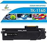 True Image Cartucho de tóner compatible como repuesto para Kyocera TK-1160 Kyocera Ecosys P2040dn P2040dw P2040dn P2040dw (negro, 1 unidad)
