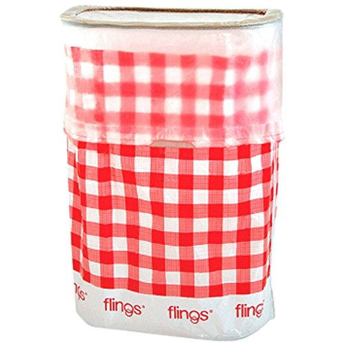 Best Buy! amscan Gingham Flings Pop-Up Trash Bin | 5 Ct.