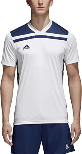 wholesale adidas 2021 Men's Regista outlet sale 18 Jersey White/Dark Blue Medium outlet online sale