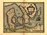 OFA Mapping Poster Dänemark & Südschweden, Skandinavien,