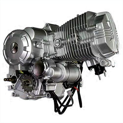 200cc 250cc CG250 Engine Motor, 4-Stroke ATV Air Cool Single Cylinder Vertical Engine Motor w/5-Speed Transmission CDI DIRT BIKE(4 Forward)